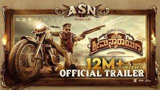 Avane Srimannarayana (Kannada) - Official Trailer | Rakshit Shetty | Pushkar Films | Shanvi | Sachin