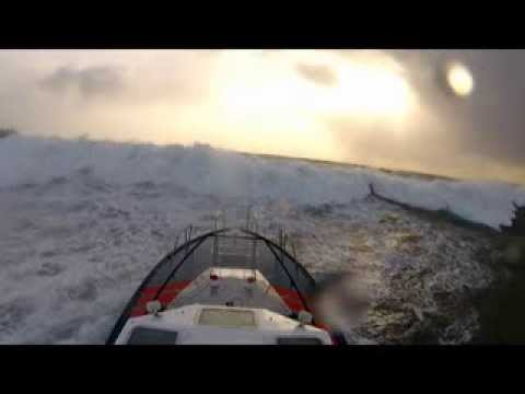 Pilot boat rough weather trials compilation during the December 2012 series of storms