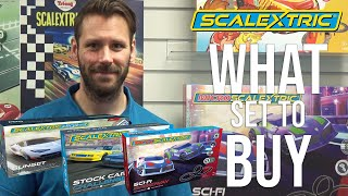 Scalextric  What set to buy?