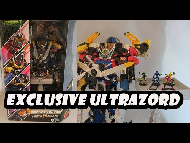 Power Rangers Beast Morphers Include Tu Beast-X Ultrazord Ultimate Collection