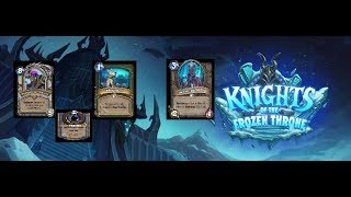 Hearthstone: Knights of the Frozen Throne New Card Reveal Part 17
