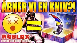 DO WE OPEN A KNIFE?! -1 DEATH = 1 BOX-COUNTER BLOX ROBLOX OFFENSIVE-DANISH ROBLOX-[#7]