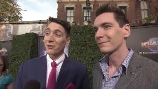 米ハリウッド「ウィザーディング・ワールド・オブ・ハリー・ポッター」前夜祭インタビュー