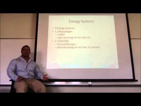 Lecture 2 (Exercise Physiology Basics) of the online personal training course.