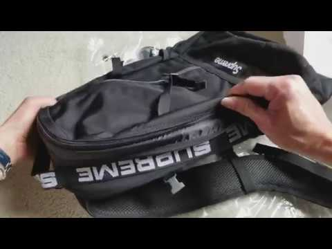 f81593996869 Real Secret Review On SUPREME SS18 Week  1 Backpack   Tips! 3 11 2018