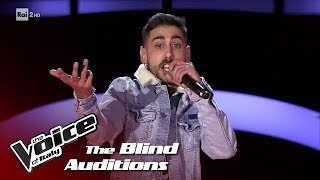 "Riccardo Giacomini ""Can't Hold Us"" - Blind Auditions #2 - The Voice of Italy 2018"