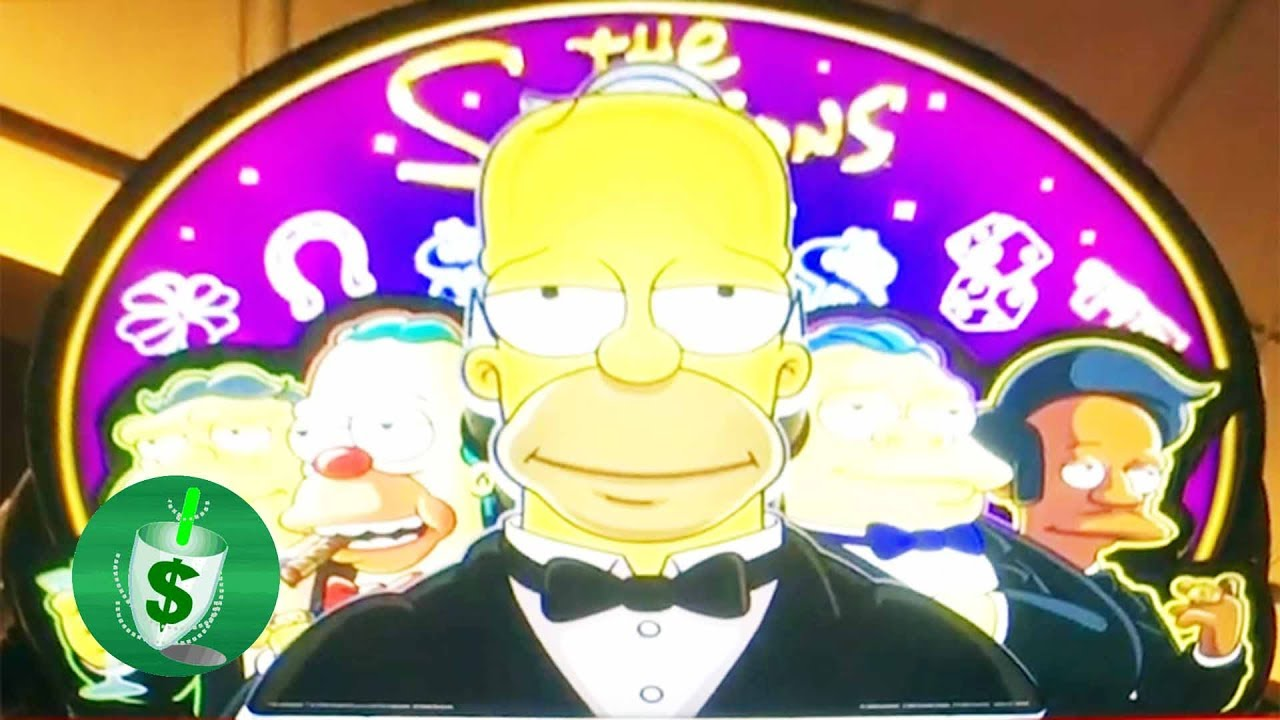 Simpson slot machine online
