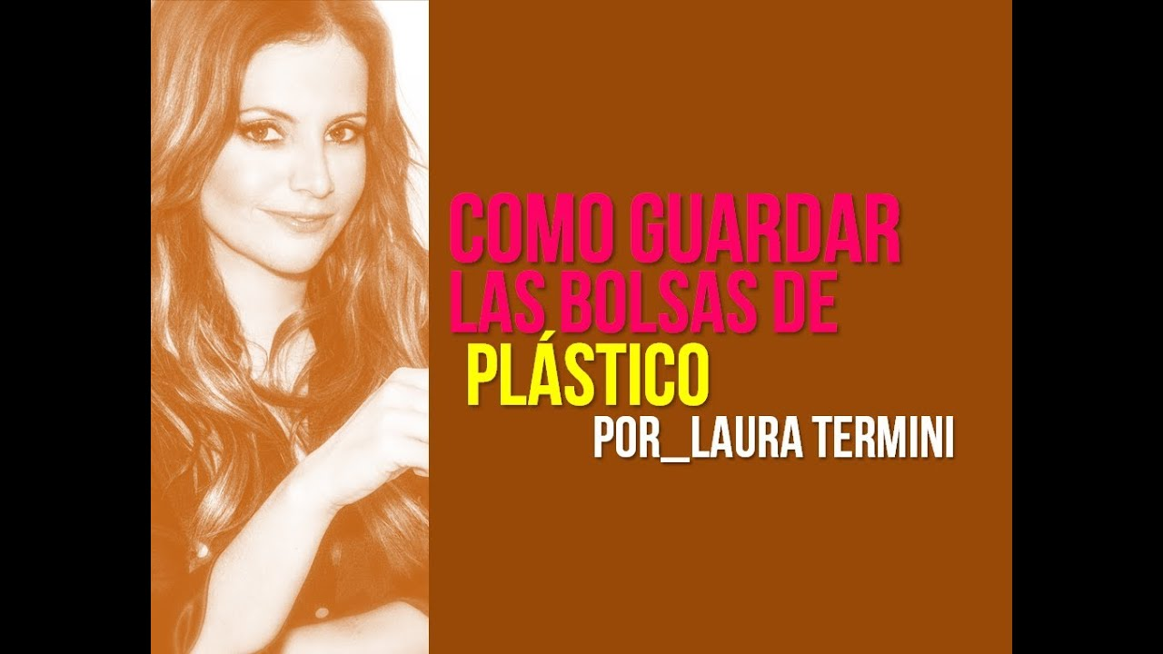 C mo guardar las bolsas de pl stico doovi for Guardar bolsas plastico