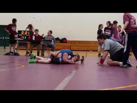 Menomonie Middle School Meet, Match 2 Part 1