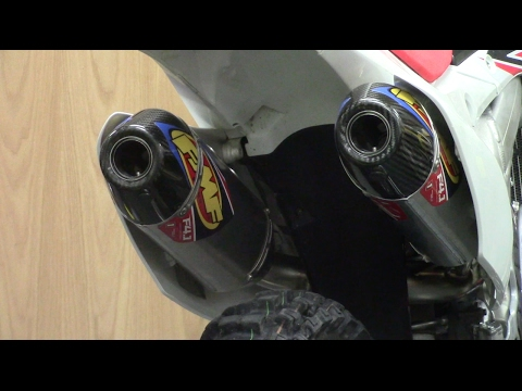 FMF 4.1 DUALS! 2015 CRF250R | Sound Comparison And Install