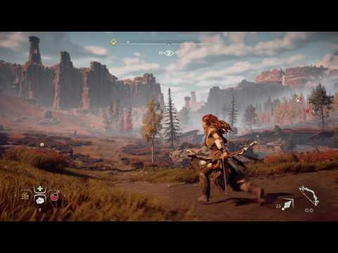 Horizon Zero Dawn 4K Gameplay (PS4 Pro)