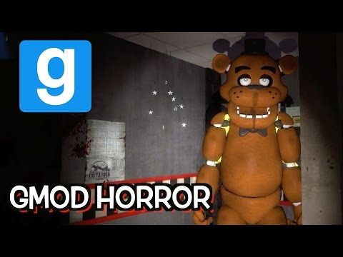 HI FREDDY! Five Nights At Freddy's Gmod Horror Map With Lordminion777!