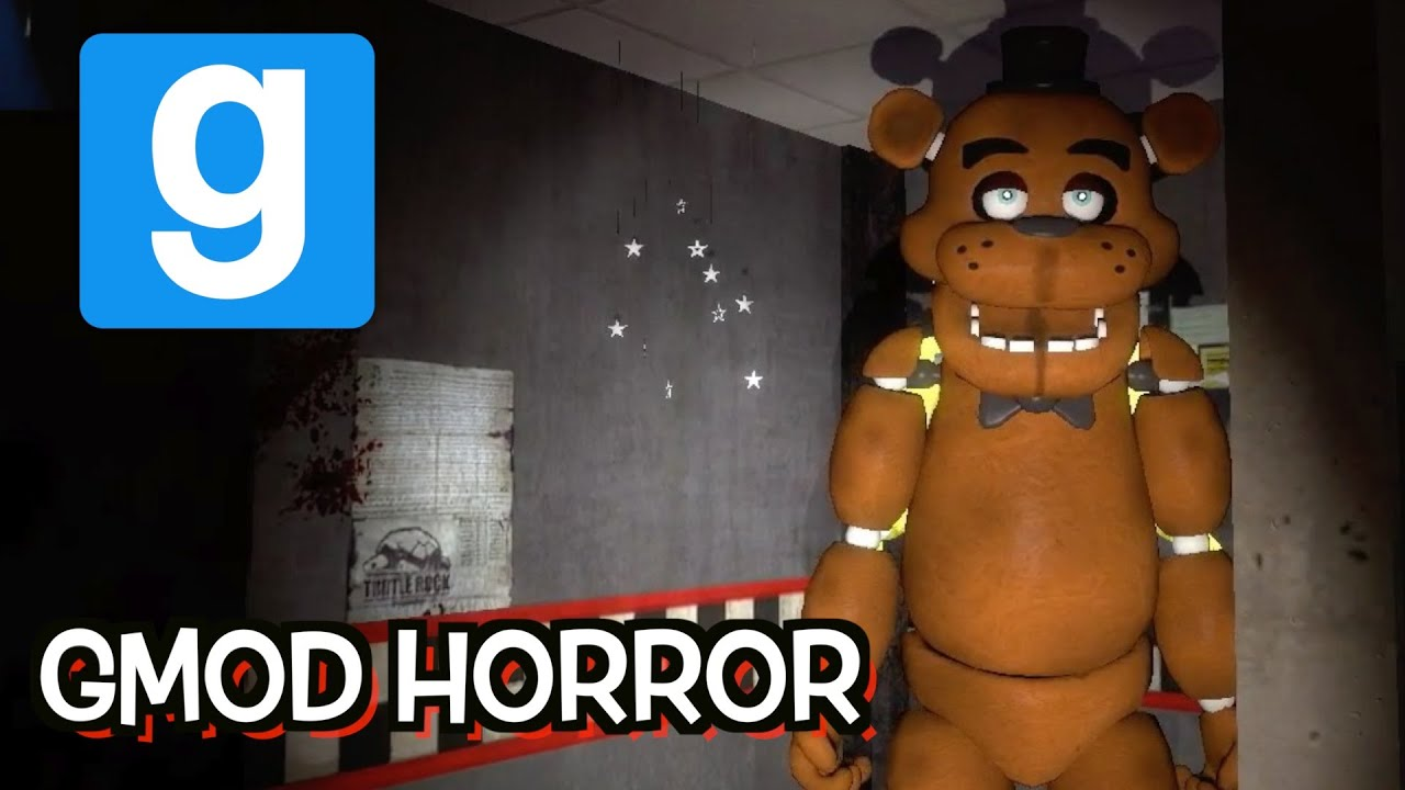 Download HI FREDDY! Five Nights At Freddy's Gmod Horror Map With Lordminion777!