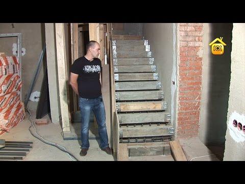Изготовление монолитной лестницы // FORUMHOUSE