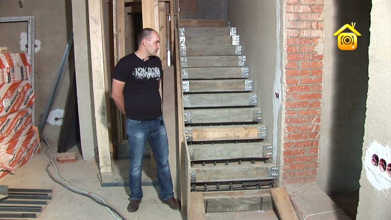 Как сделать лестницу железобетонную фото 776