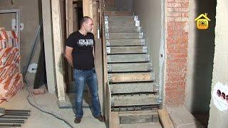 Изготовление монолитной лестницы // FORUMHOUSE(, 2012-09-03T05:41:57.000Z)