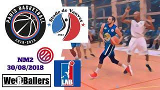 Paris Basket Avenir v Vanves NM2 Presaison 30/08/2018 Highlights by We R Ballers