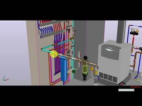 #котельная #3D #проектирование Проект котельной-как это сделано? (СтроимТепло.Ру)