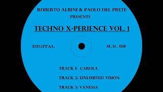 ROBERTO ALBINI & PAOLO DEL PRETE - TECHNO X-PERIENCE VOL. 1 (PROMO SNIPPET)