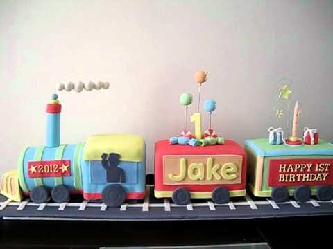 Train Birthday Cakes To Make