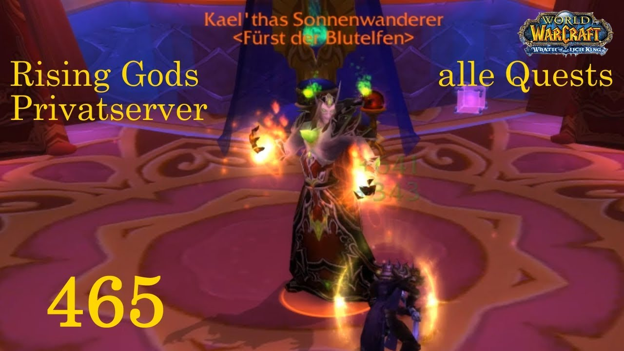 Wow Rising Gods 465 Die Terrasse Der Magister 3 3 Let S Play