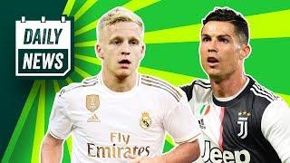 Real Madrid agree on Ajax star + Ronaldo's UEFA controversy! ► Daily News
