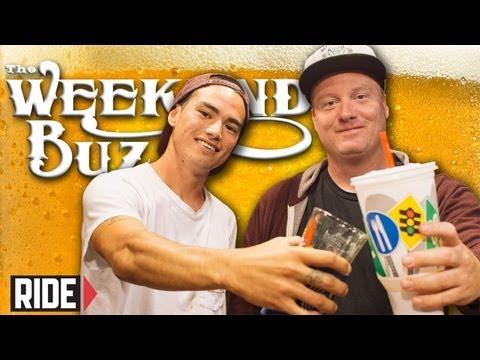 Ryan Spencer & Mike Sinclair: Food Snobs, Hippy Jumps & Tour Etiquette! Weekend Buzz ep. 72 pt. 1