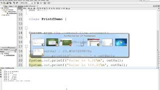 Formatting Output with printf in Java