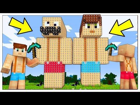 NON ROMPERE LUCA E SP GIGANTI DI LUCKY BLOCK! - Minecraft ITA