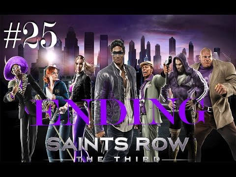 Saints Row:The Third Walkthrough Part #25-Gangstas in Space (The End)