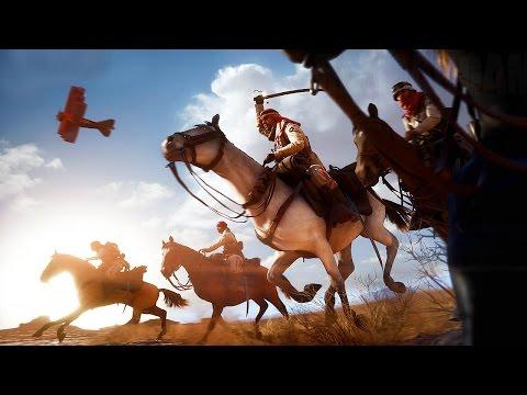 Battlefield 1 - 60 Minutes Multiplayer Gameplay (Sinai Desert Map) @ 1080p HD ✔