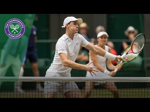 Jamie Murray/Martina Hingis v Henri Kontinen/Heather Watson highlights - Wimbledon 2017 final