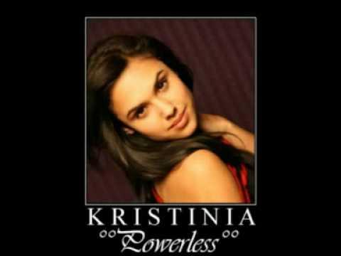 Kristinia DeBarge - Powerless (album: Exposed 2009)