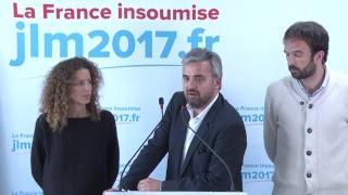 EN DIRECT - CONFÉRENCE DE PRESSE DE LA FRANCE INSOUMISE - #ConfFi