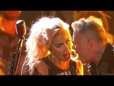 Lady Gaga & Metallica - Moth Into Flame