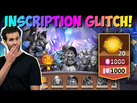 Destiny Inscription GLITCH New F2P Account Castle Clash