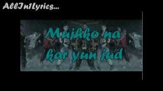 Bezubaan -Official full song lyrics on screen| Any Body Can Dance (A.B.C.D.) | Allin1lyrics