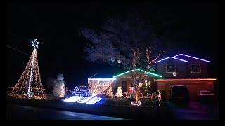 Musical Christmas Lights 2014 - White Winter Hymnal - Pentatonix