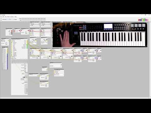 Patching with Axoloti - live sampling fun (beat, arp and granular)