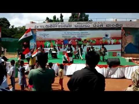 Beat Gurus performing at Run for Bharath Independence day Celebration, Jayanagar