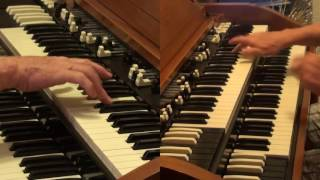 """""""No Opportunity Necessary, No Experience Needed"""" by the YES -  Hammond organ part video as learned"""