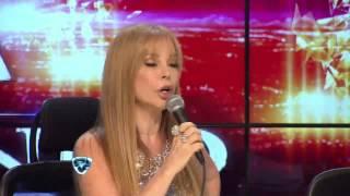 """Showmatch 2014 - Loly Antoniale bailó """"Mentiroso"""" y se peleó con Alfano"""