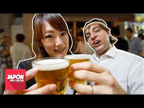 BEBER ALCOHOL EN JAPÓN (Nominication | 飲みニケーション)
