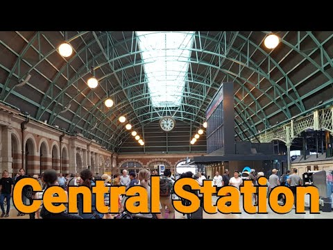 Central Train Station - Sydney Australia - Sydney Trains
