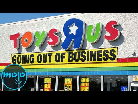 Top 10 Stores That Don't Exist Anymore