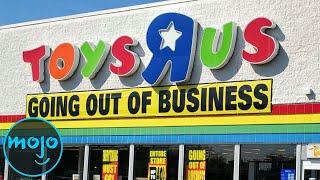 Top 10 des magasins qui n'existent plus