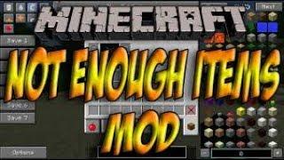 Como baixar e instalar mods no Minecraft: Not Enough Items (NEI) - 1.8 Sem Erro