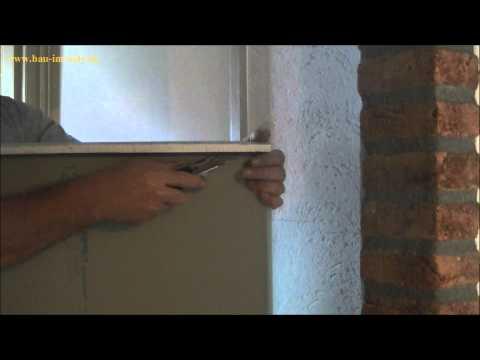 schritt f r schritt anleitung selbst rigipsplatten anb doovi. Black Bedroom Furniture Sets. Home Design Ideas