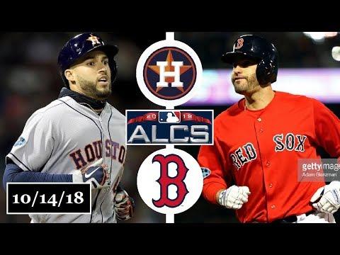 Houston Astros vs Boston Red Sox Highlights || ALCS Game 2 || October 14, 2018