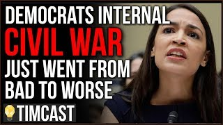 Democrats Civil War Just Went From Bad To Worse, AOC And Bernie Paved A Path For A Republican DECADE
